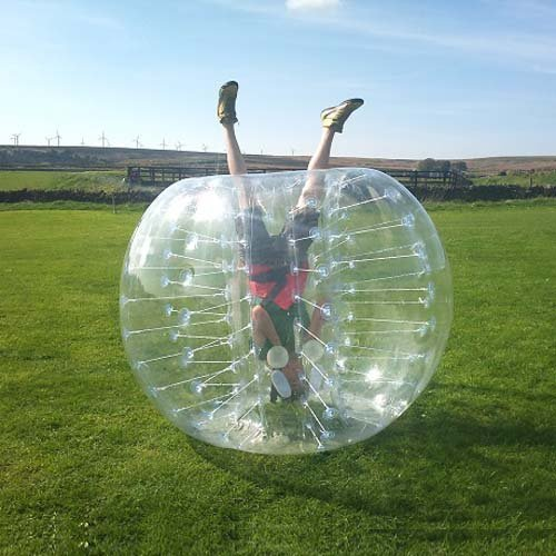 (Holleyweb Dia 5-Feet (1.5m) Human Inflatable Bumper Bubble)