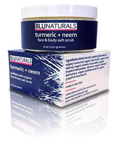 blu-naturals-turmeric-and-neem-sea-salt-face-scrub-usda-organic-jojoba-vitamin-e-coconut-shea-rosema