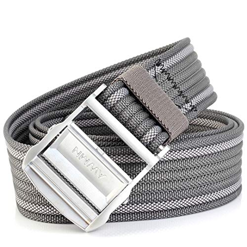 (Elastic Casual Canvas Metal Buckle Belt Army Thicken Strap Outdoor Tactical Gear 04 125cm)