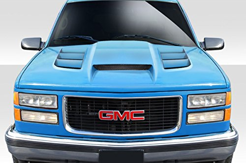 Duraflex ED-DEI-939 Viper Look Hood - 1 Piece Body Kit - Compatible For Chevrolet C/K Series Pickup 1988-1999