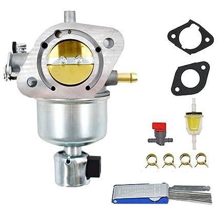 Amazon com: Templehorse Carburetor For Kawasaki 15004-0984
