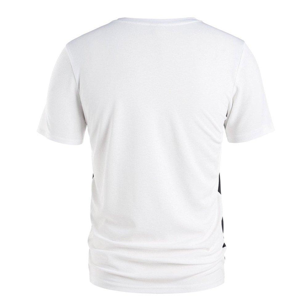 PANPANY Uomo Donna Coppia Piano Keys Note Musicali Stampa Tshirt Stampa T-Shirt Top Camicetta T-Shirt Casual alla Moda Sport Tempo Libero Manica Corta