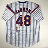Autographed/Signed Jacob DeGrom New York NY