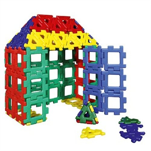 Popular Playthings Giant Polydron Huntar Company Inc PD-70-7000