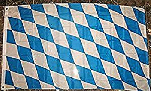 Bavaria Flag 3'x5' German Bavarian Banner (Bavaria Flag)