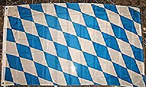 Bavaria Flag 3'x5' German Bavarian Banner