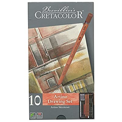 Cretacolor Artino Sketching Set (Basic Drawing Tin Set of 10)