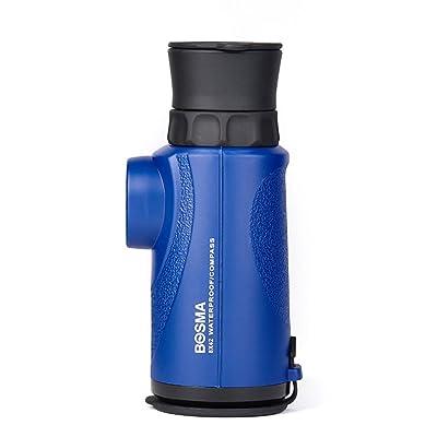 WEBO HOME- Télescope 8X42 Monoculaire Haute définition Vision nocturne haute définition Oiseau adulte - Observation de la plage Boussole -Télescope