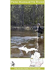 Wilderness Adventures Press Pere Marquette River Fishing Access Map