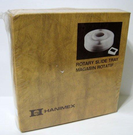 Hanimex Rotary Slide Tray for Slide Projectors 100 - 2X2 Kodak Wards Sears NIB by Hanimex