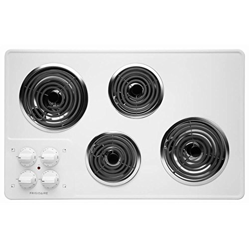 "Frigidaire 32"" White Electric Coil Top Stovetop Cooktop FFEC3205LW"