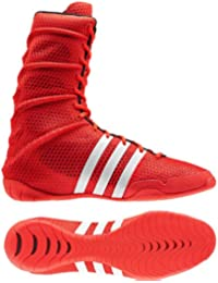 ADIPOWER Olympic Red Boxing Shoes