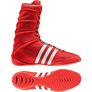 adidas ADIPOWER Olympic Red Boxing Shoes (US 5)