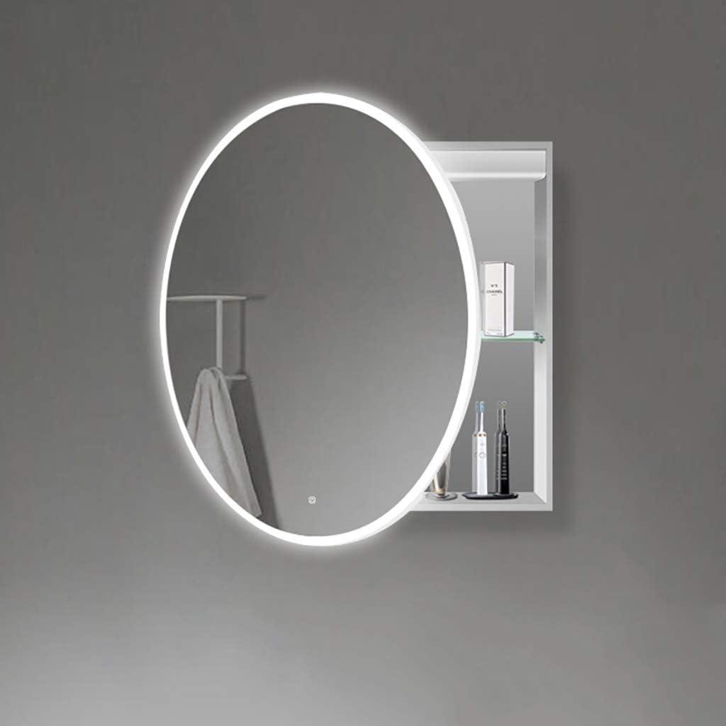 J+N Moderne Rund-spiegelschrank Bad Iameter-18cm / 18.18in