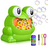 Bubble Machine Automatic Frog Bubble Maker With Extra Gift, Great Toy for Toddlers, Children and Pets By JIA LE