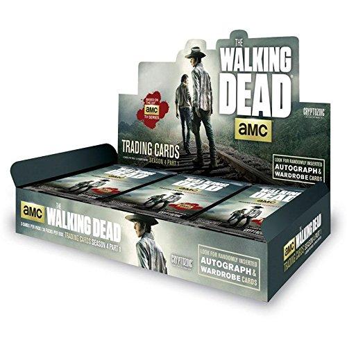 Cryptozoic 2016 by Cryptozoic Entertainment The Walking Dead Season 4 Part 1 Trading Cards Box