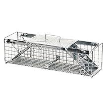 Havahart 1030 2-Door Animal Trap for Rabbits, Squirrels, Skunks, and Minks