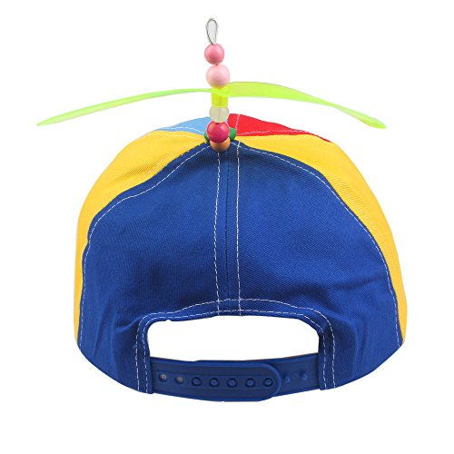 0af7cd6d9a1 GEANBAYE Adult And Child Both Size Funny Baseball Style Multicolor Optional Propeller  Hat