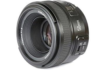 ad5d4643a7fda4 YONGNUO YN50mm F1.8N Standard Prime Lens Large Aperture Auto Manual Focus  AF MF for