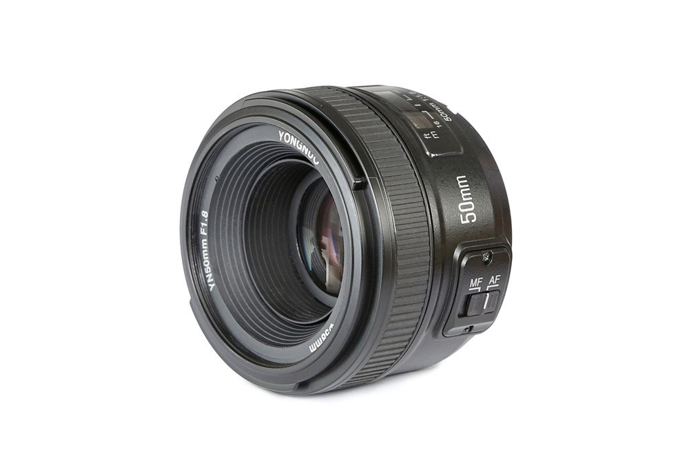 YONGNUO YN50mm F1.8N Standard Prime Lens Large Aperture Auto Manual Focus AF MF for Nikon DSLR Cameras by Yongnuo