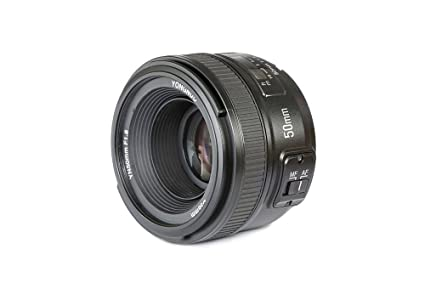 3acf595cf8 YONGNUO YN50mm F1.8N Standard Prime Lens Large Aperture Auto Manual Focus  AF MF for