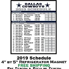 Dallas Cowboys 2020 Schedule.Amazon Com Miami Dolphins Nfl Football 2019 Full Season