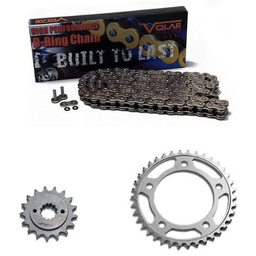 98-03 Honda Shadow ACE 750 VT750 C/CD/CD2 O-Ring Chain and Sprocket Kit - Nickel