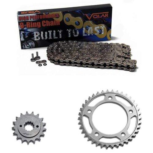 Sprocket Chain O-ring - 98-03 Honda Shadow ACE 750 VT750 C/CD/CD2 O-Ring Chain and Sprocket Kit - Nickel