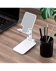 حامل هاتف خلوي من ديسديل قابل للطي ارتفاع زاوية قابل للتعديل حامل سطح المكتب المحمول متوافق مع الهاتف المحمول / ايباد / تابلت PYDECDEALH32677-WKTSA