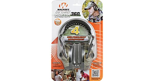 Amazon.com: Walkers Game Ear Alpha Quad with NXT Camo ...