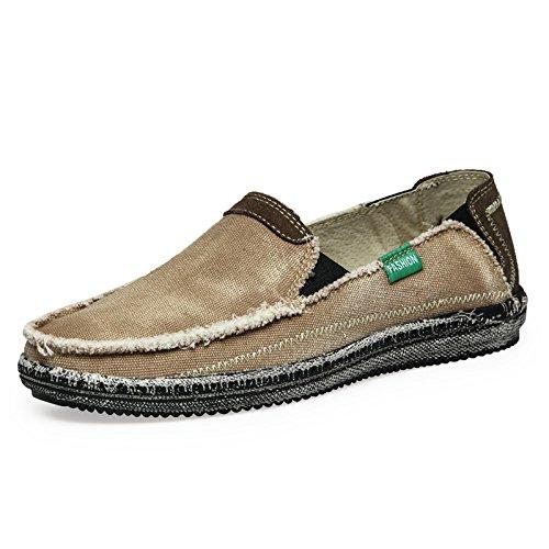 Zapatos casuales Caqui antideslizantes que casuales de coche conduce el calidad alta Zapatos clásicos Zapatos El hombre zqvwgg