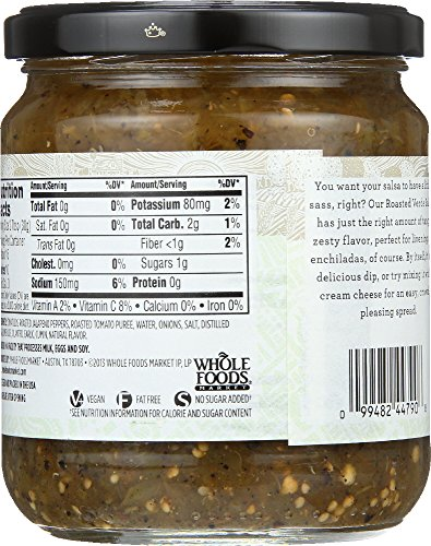 Large Product Image of 365 Everyday Value, Salsa Roasted Verde, 16 oz