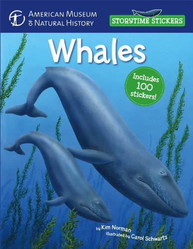 Storytime Stickers: Whales (Whale Stickers)