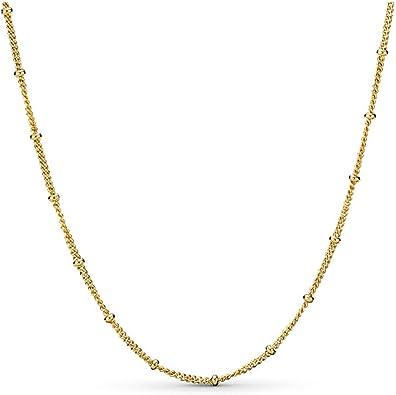 Amazon.com: PANDORA Shine Beaded Necklace: Jewelry