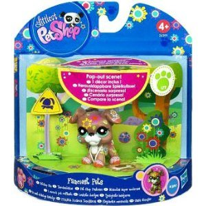 Littlest Pet Shop Boxer (Littlest Pet Shop Fanciest Pets Series 1 Figure)