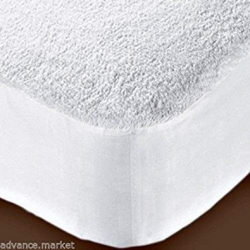 Waterproof Terry Towelling Mattress Protector Luxury Single Double King Size 4ft (King) Night Zone