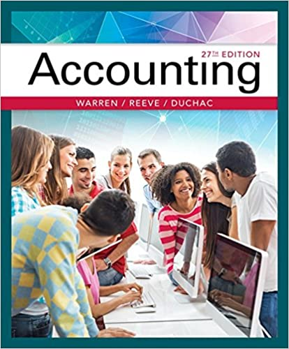 Accounting by Reeve/Warren