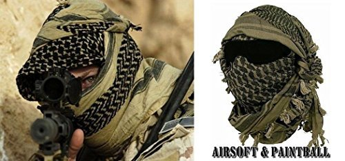 Shemagh keffieh cheche US Army - Foulard Palestinien - Airsoft Paintball Outdoor MILTEC