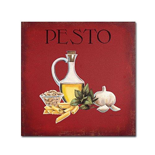 Italian Cuisine II work by Marco Fabiano, 35 by 35-Inch Canvas Wall Art
