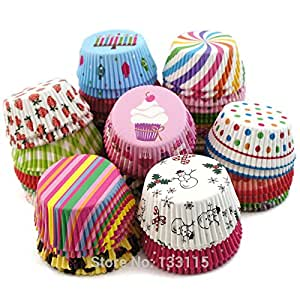 Paper Cupcake Liners Baking Cup Muffin Cases 2 Broke Girls