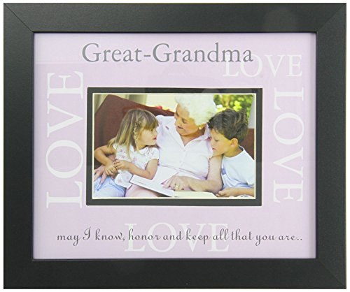 Amazon.com : The Grandparent Gift Co. Great-Grandma Love Frame ...