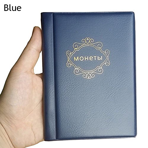 Kuuans Hobby 3 Colors Home Supplies Currency Holder Coin Albums Russian Front Cover 10 Pages 120 Pockets