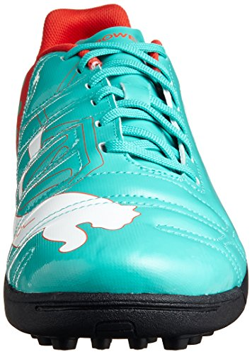 Puma , Chaussures pour homme spécial foot en salle Vert pool green-white-grenadine-turbulence 41