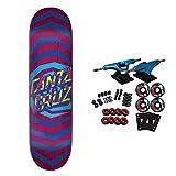 Santa Cruz Skateboard Complete Illusion Dot Purple 8.25'
