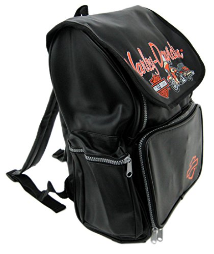 Licensed Harley Davidson Kids Vinyl Backpack