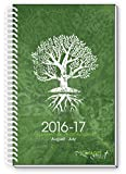 2016-17 TREE Of LIFE INSPIRATIONAL Christian Daily Planner August 2016 To July 2017 Day Planners Weekly Monthly Date Agenda, 6 x 9