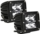 Rigid Industries 20212 Dually Amber Floodlight, (Set of 2)
