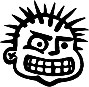 """MXPX Rock Band Printed Decal Sticker - 5"""" Sticker for Cars Windows Notebooks Lockers Etc"""