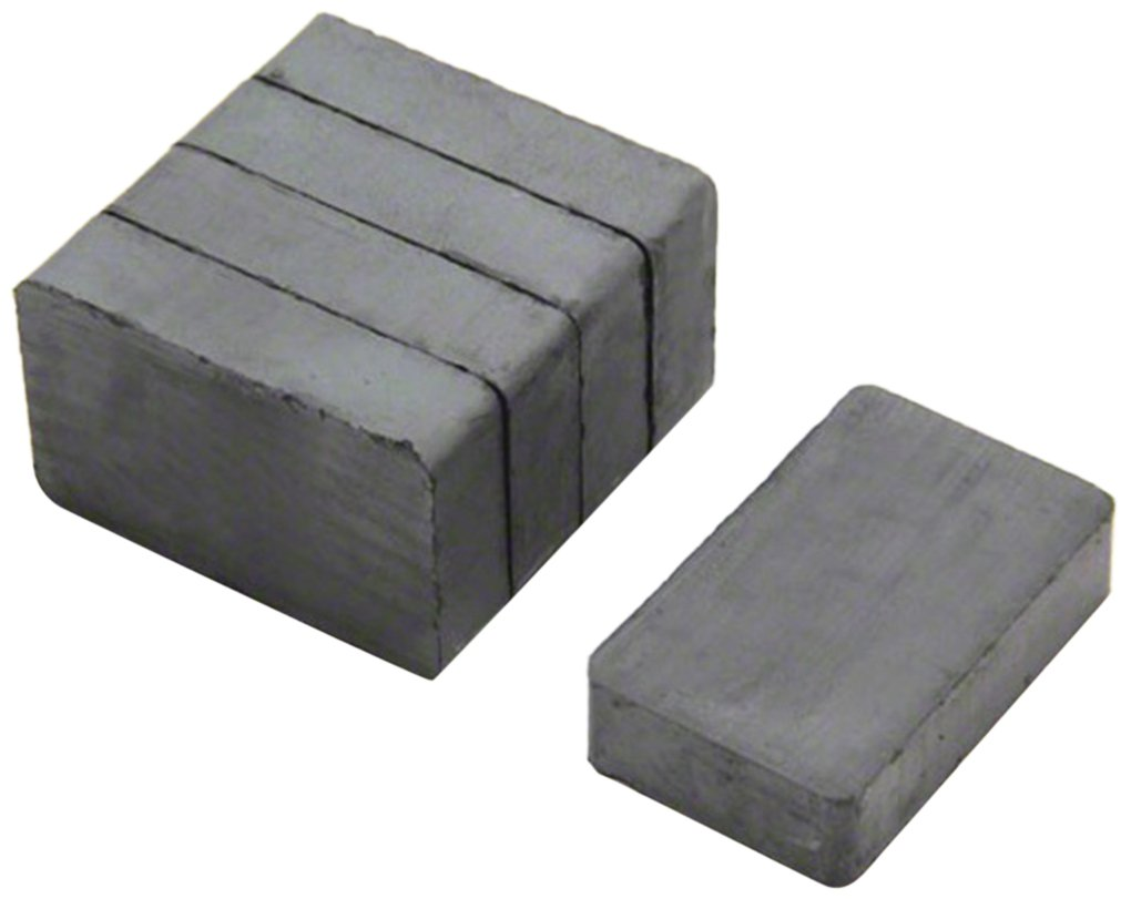 Magnet Expert® 40 x 25 x 10mm thick Y30BH Ferrite Magnet - 3kg Pull ( Pack of 5 ) Magnet Expert® F02510-5