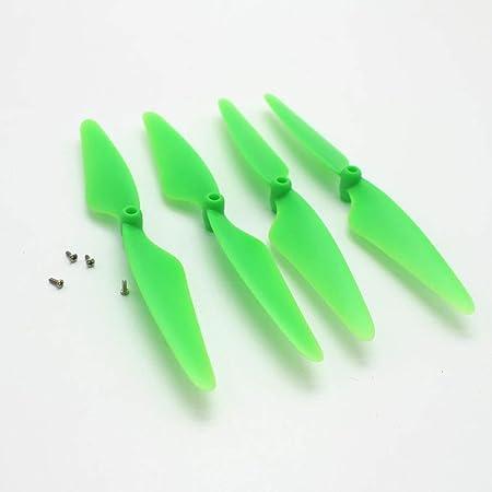 Tellaboulle 4 Piezas hélices dron hélices Flexibles hélices de ...